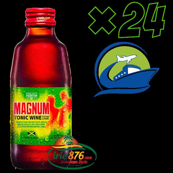 ジャマイカから直送  (24 本 ) Magnum Tonic Wine (マグナムトニックワイン)