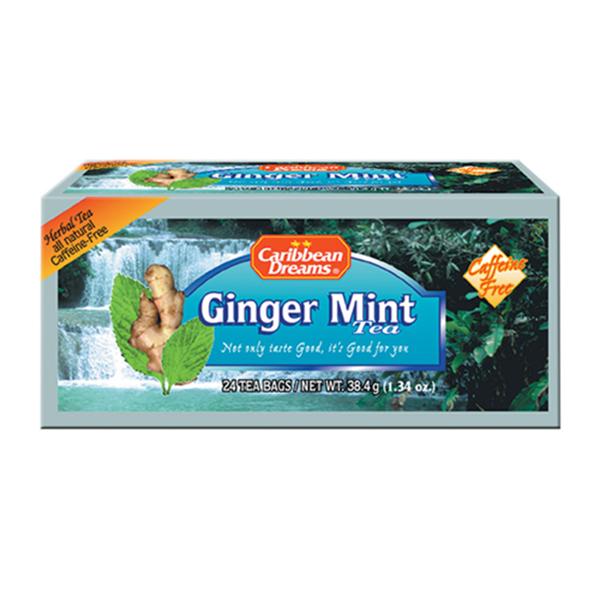 Caribbean Dreams Ginger mint Tea  生姜とミントティー(24バグス)