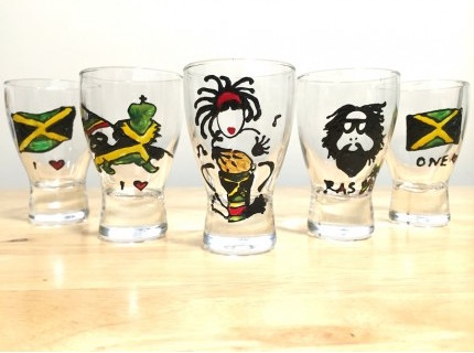 IRIE Shot Glass by Lee  Creatives