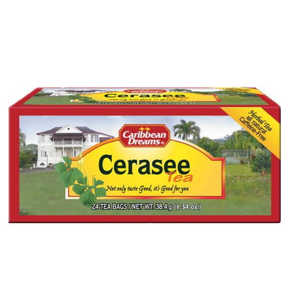 Caribeean Dreams Cerasee Tea 24 Tea bags [セラセーティー 24バグス]