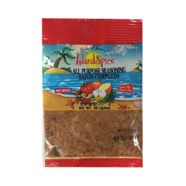 Island Spice All Purpose Seasoning ( Small Pack) 56.7g ( 2oz)