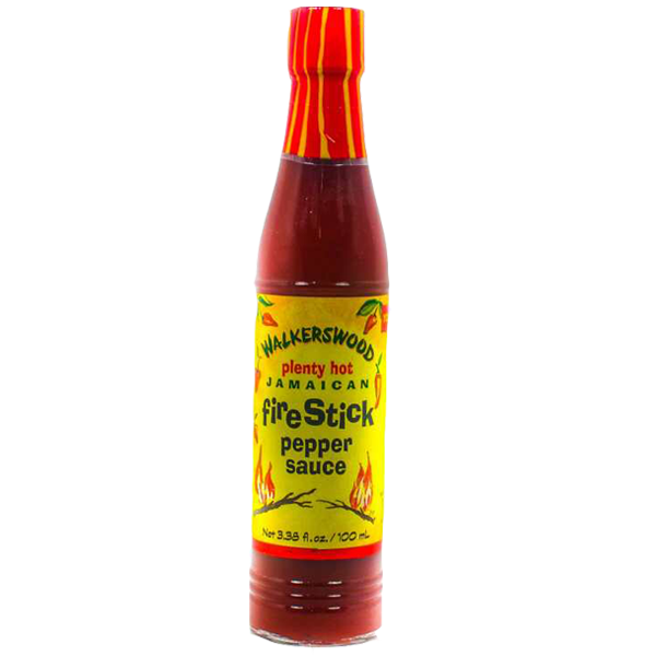 Walkerswood Fire Stick Hot pepper Sauce 3.38OZ (ウォーカーズウッド ファイアースティック ホットペッパーソース)
