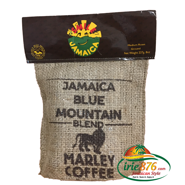 *SALE* Marley Jamaica Blue Mountain Coffee Blend ( Ground)  8oz (226.80g) ブルーマウンテンコーヒーブレンド  (グラウンド)