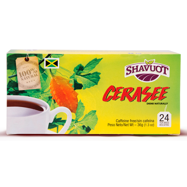 Shavuot Farms Cerasee 24 Tea Bags  [セラセーティー 24バグス]
