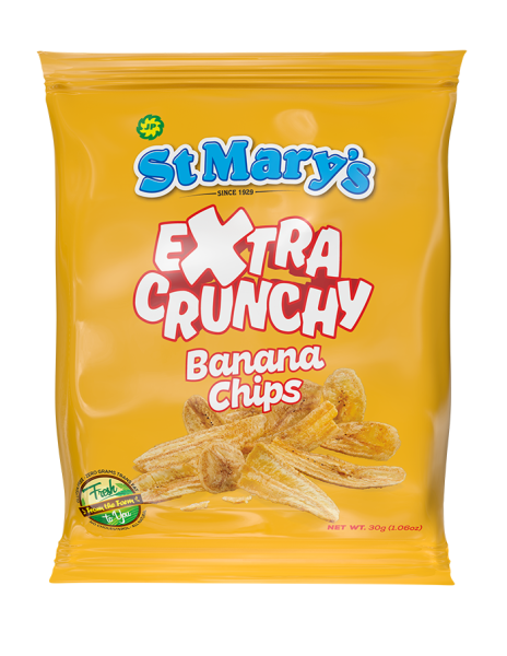 *SOLD OUT*  St Mary's Banana Chips EXTRA CRUNCY (セントメリーズバナナチップス) BIGパック (142g)