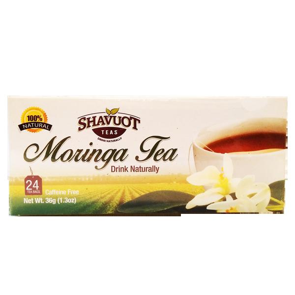 Shavuot Farms Moringa Tea 24 Tea bags [モリンガティー24バグス]