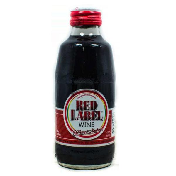 Red Label Wine レッドラベルワイン (200ml)